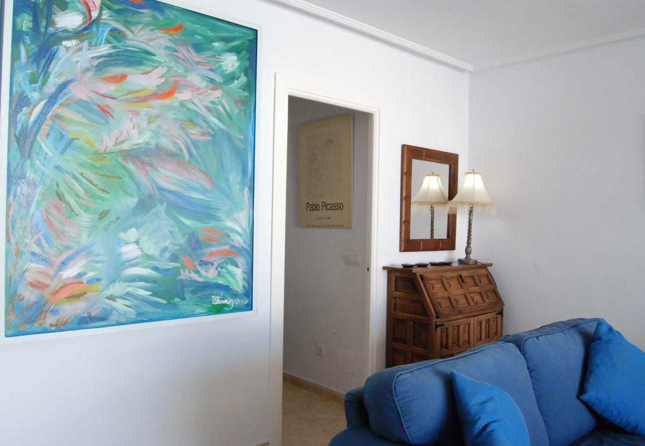 Apartamento en Nerja - Apartamento para 4 personas a100 mde la playa