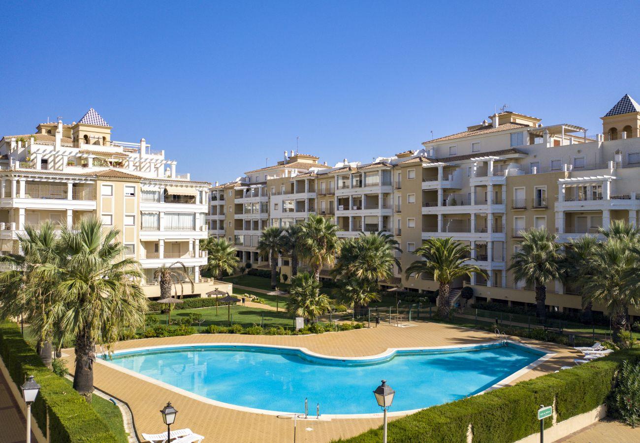 Apartamento en Punta del Moral - Apartamento de 2 dormitorios a50 mde la playa
