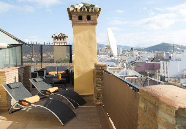 Apartamento en Málaga ciudad - ATICO TRIBUNA