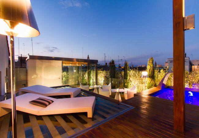 Apartamento en Valencia - Apartamento con piscina en Valencia