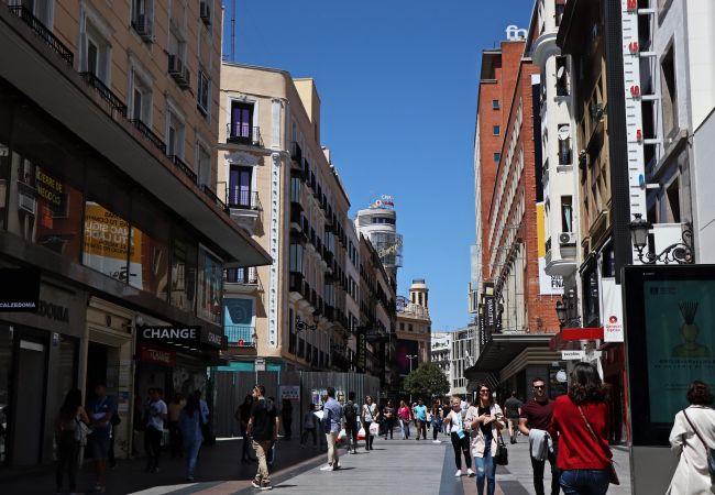 Apartamento en Madrid - M (SON1) Madrid Centro-Gran Vía Downtown