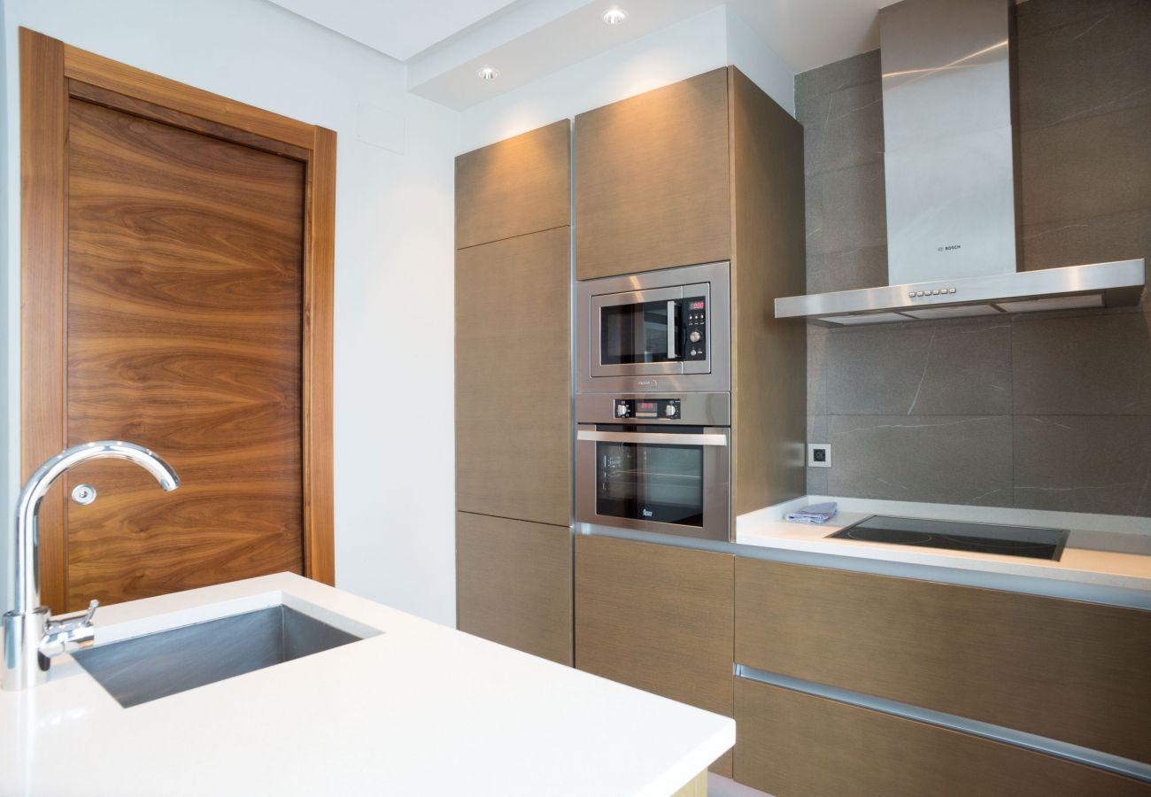 Apartamento en San Sebastián - Apartamento de 2 dormitorios a50 mde la playa