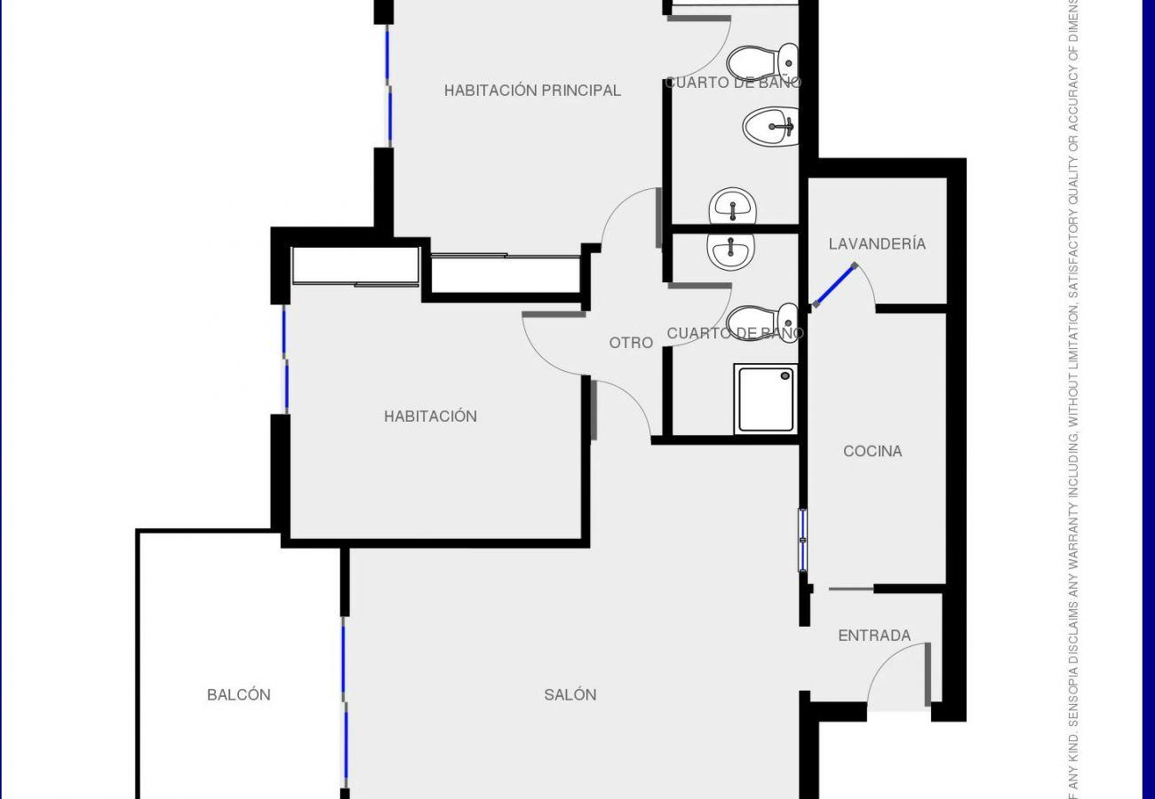 Apartamento en Isla Canela - Apartamento con piscina a2 kmde la playa