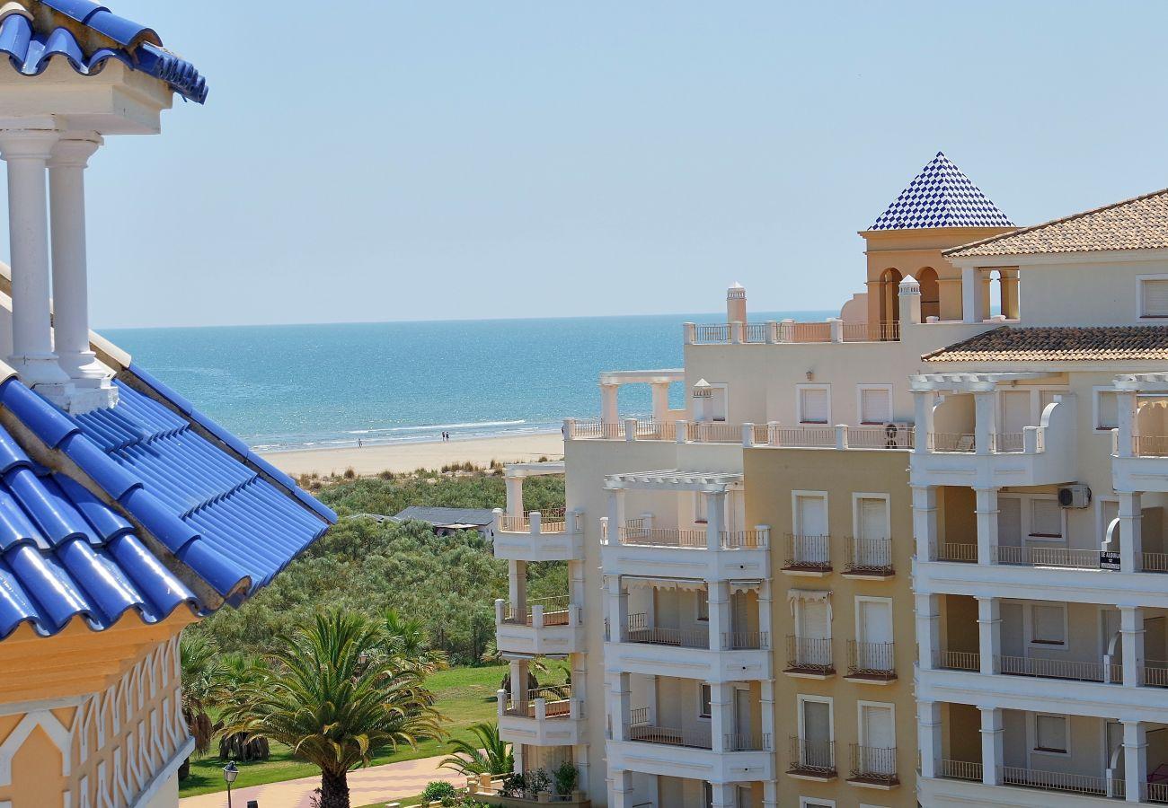 Apartamento en Punta del Moral - Apartamento con piscina a50 mde la playa