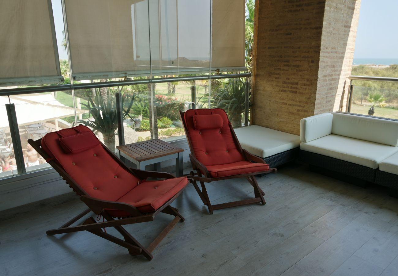 Apartamento en Punta del Moral - Apartamento de 3 dormitorios a50 mde la playa
