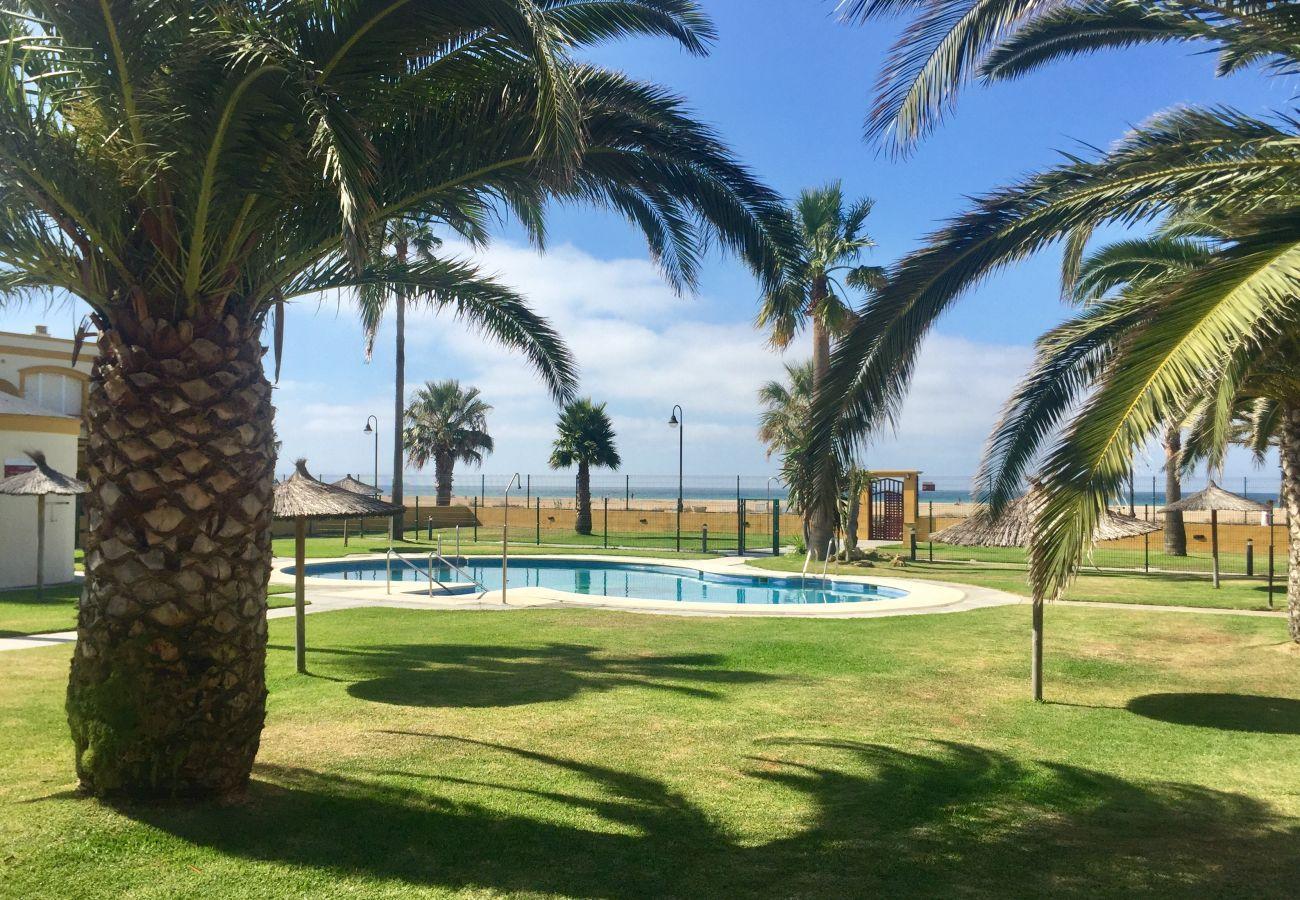 Estudio en Tarifa - Estudio con piscina a10 mde la playa