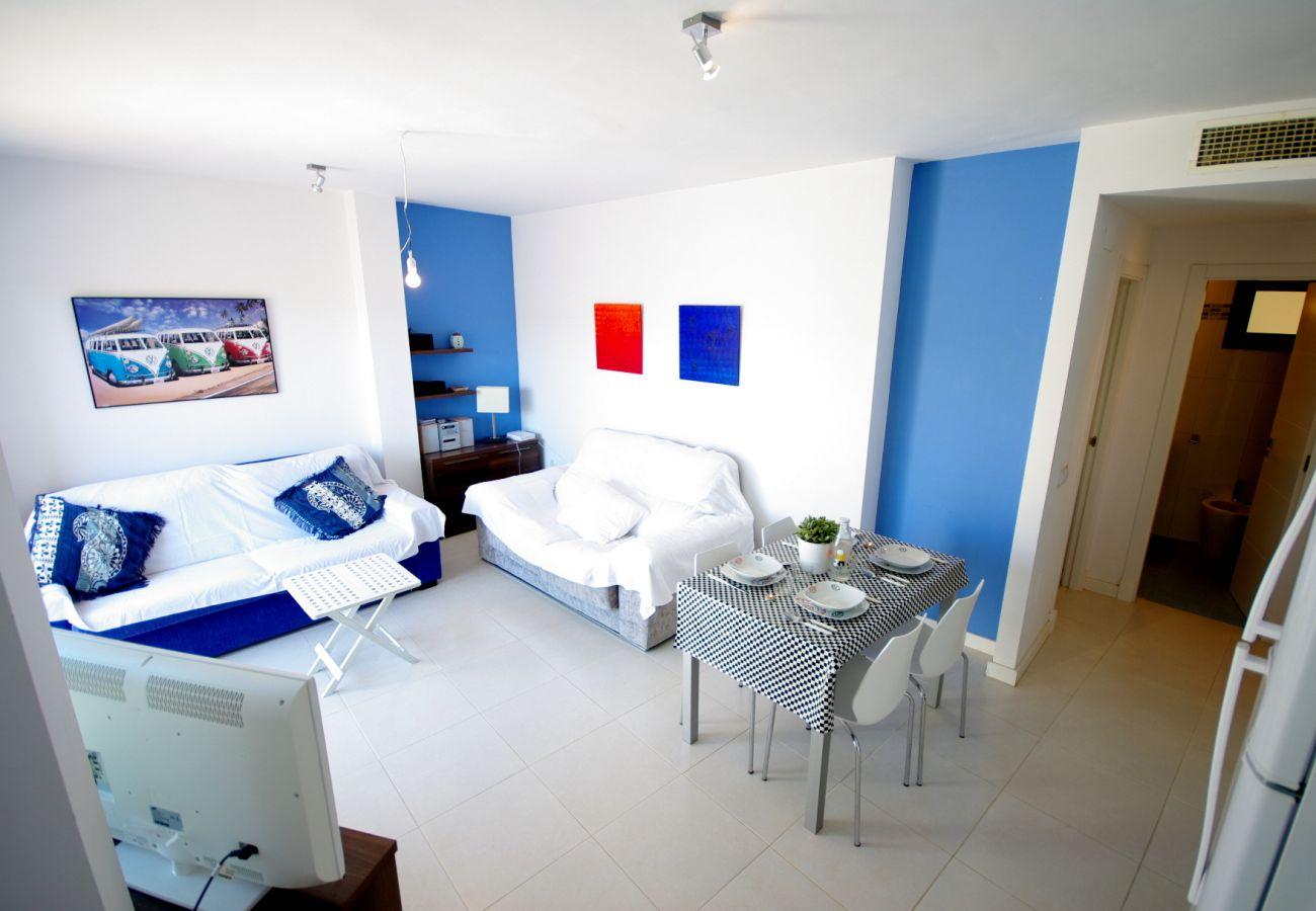 Apartamento en Tarifa - Apartamento con piscina en Tarifa