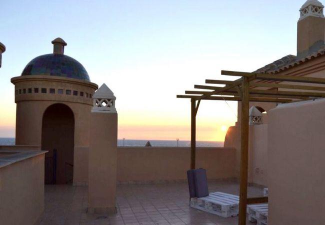 Apartamento en Tarifa - Apartamento con piscina a50 mde la playa
