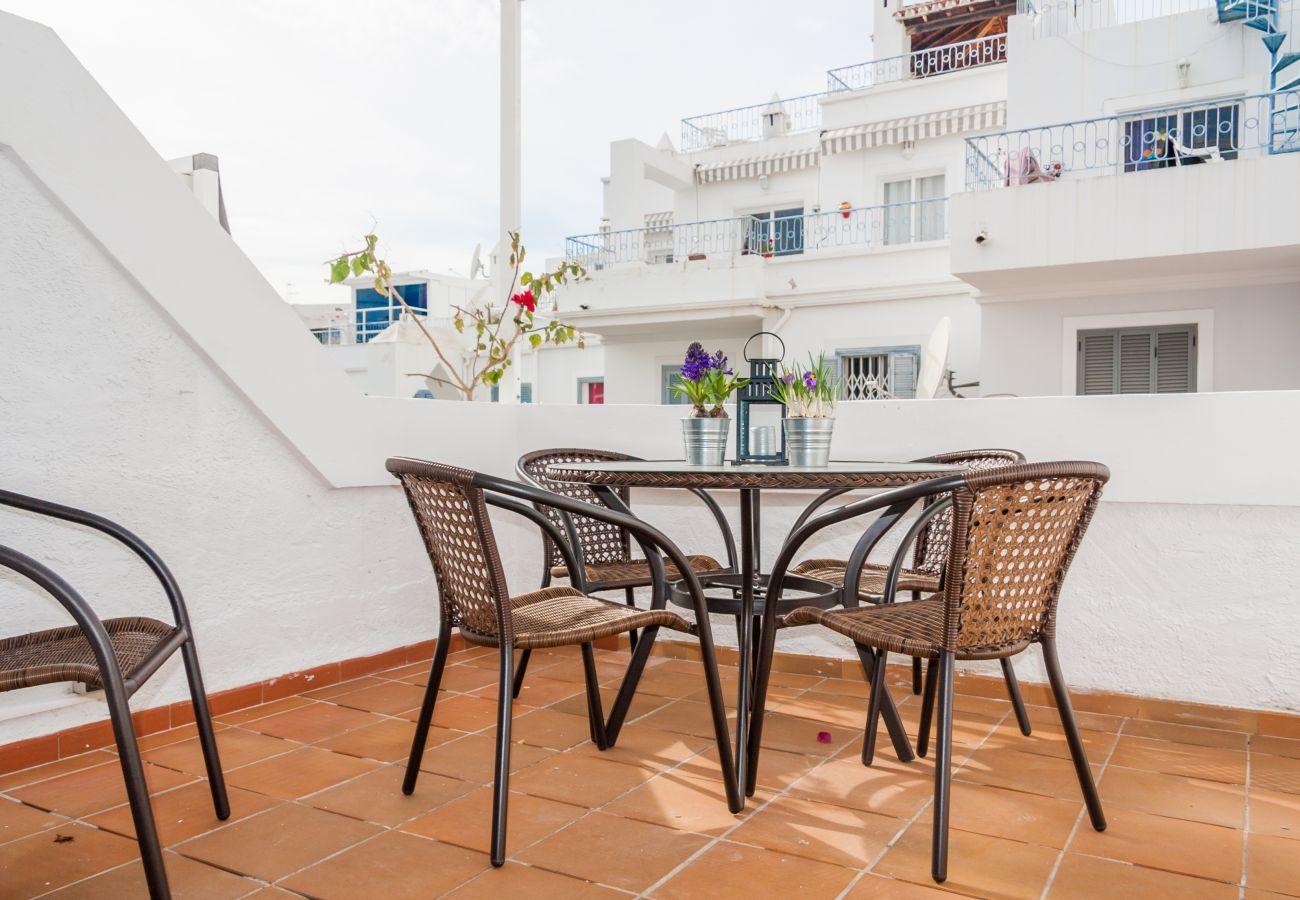 Casa en Nerja - Casa de 3 dormitorios a100 mde la playa