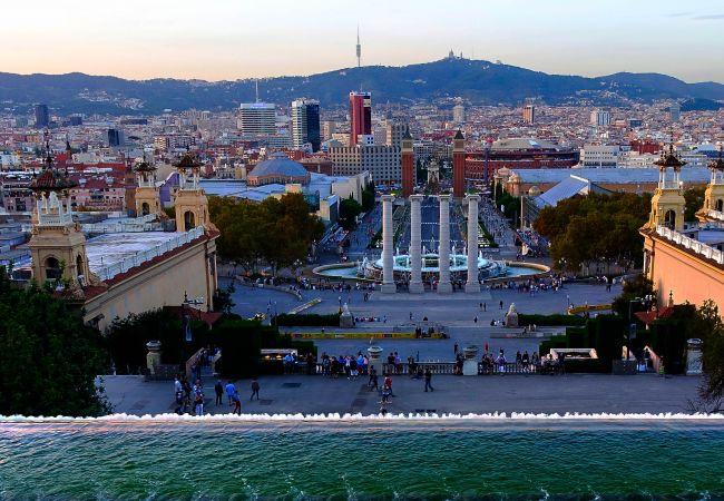 Apartamento en Barcelona - Piso en alquiler con gran terraza privada, junto Passeig de Gracia, Barcelona centro