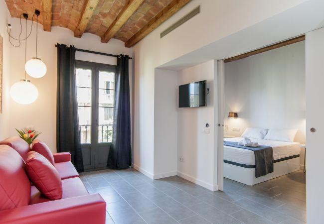 Apartamento en Barcelona - Piso DELUXE con terraza y piscina en alquiler centro Barcelona (1 dormitorio)