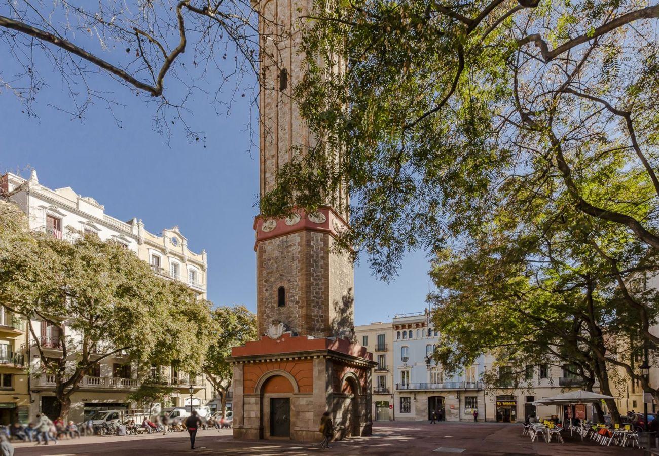 Apartamento en Barcelona - GRACIA ROSE, piso de 4 dormitorios en alquiler por días en Barcelona centro, Gracia