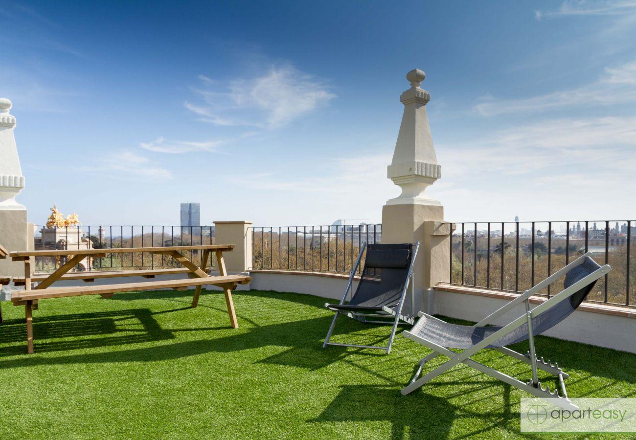 Apartamento en Barcelona - Family CIUTADELLA PARK, grande, luminoso, terraza compartida, Barcelona centro
