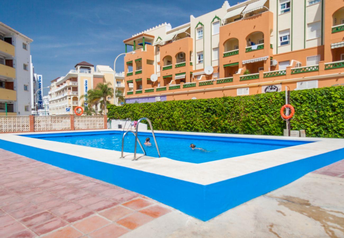 Apartamento en Nerja - Apartamento para 3 personas a50 mde la playa