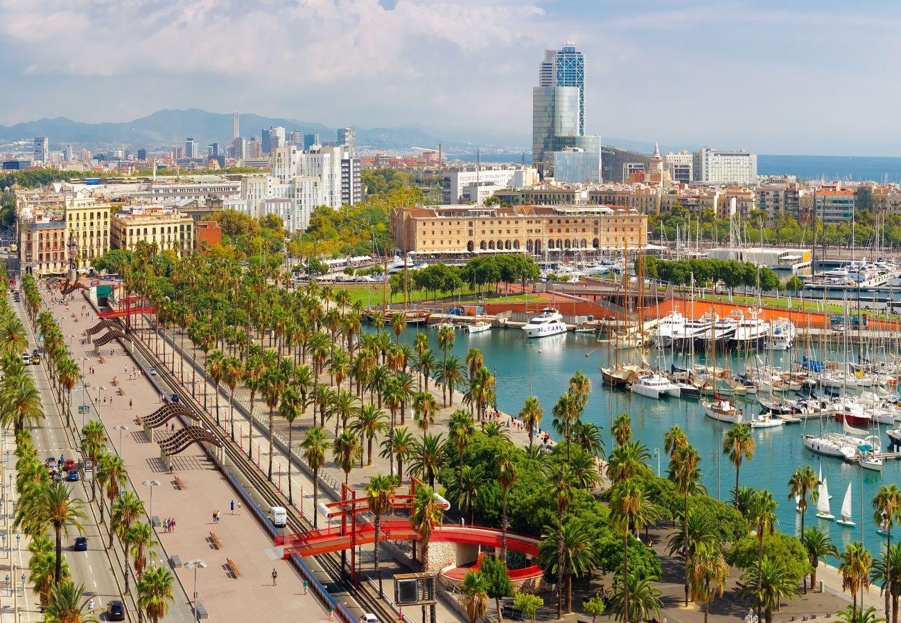 Apartamento en Barcelona - Estudio bonito, confortable, tranquilo y luminoso en alquiler en Gracia, Barcelona centro