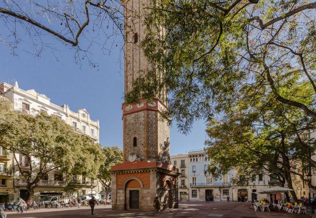 Apartamento en Barcelona - Piso con encanto, restaurado y equipado, muy bonito y luminoso en Barcelona centro, Gracia