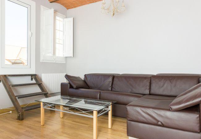 Apartamento en Barcelona - ATIC GRACIA - Bonito, tranquilo y soleado, junto Passeig gracia.