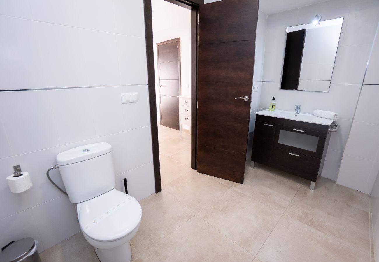 Apartamento en Nerja - Apartamento con piscina a2 kmde la playa
