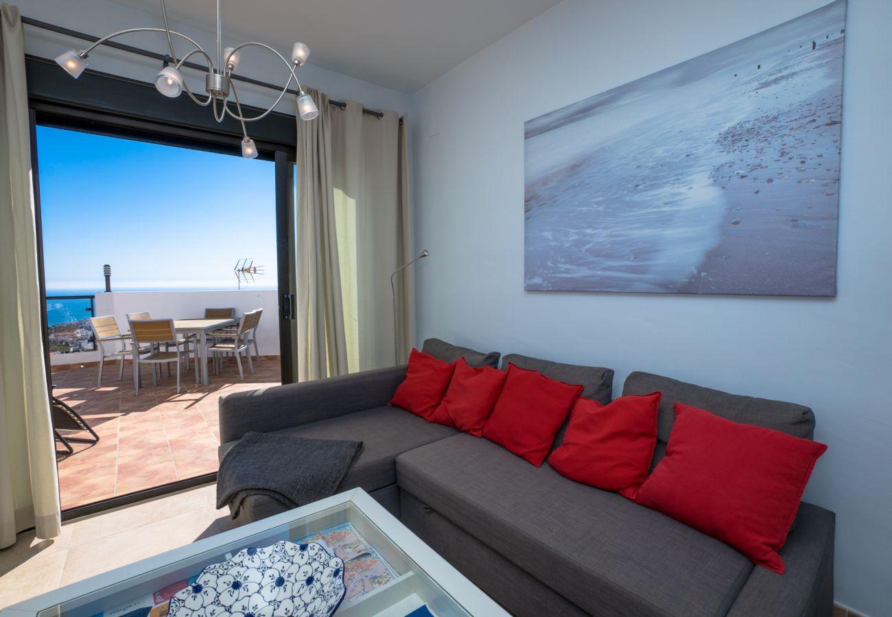 Apartamento en Nerja - Apartamento de 2 dormitorios a2 kmde la playa