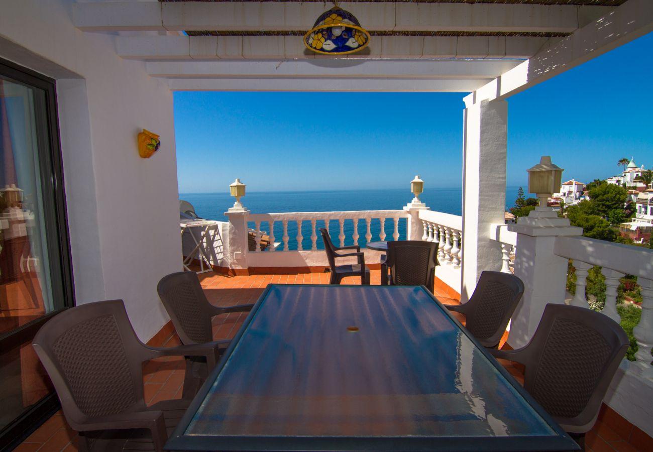 Casa en Nerja - Casa para 6 personas a300 mde la playa