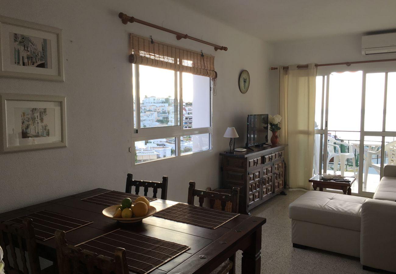 Apartamento en Nerja - Apartamento de 2 dormitorios a150 mde la playa