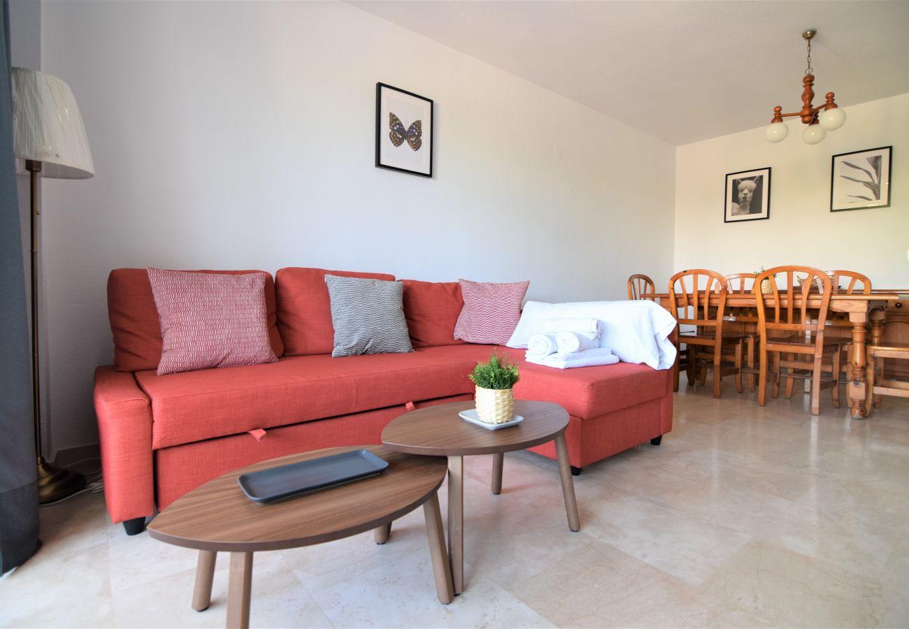 Apartamento en Nerja - Apartamento de 2 dormitorios a50 mde la playa