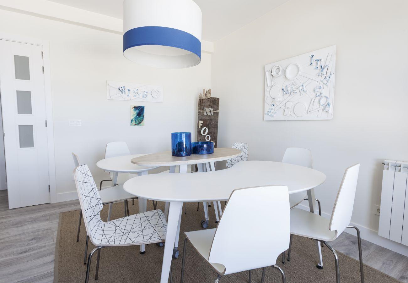 Apartamento en San Sebastián - Apartamento para 7 personas a50 mde la playa