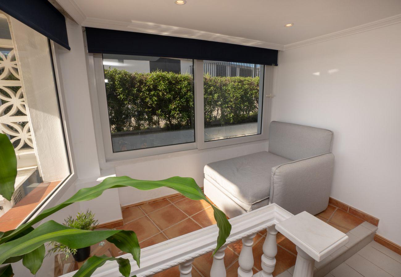Apartamento en Nerja - Apartamento de 3 dormitorios a10 mde la playa
