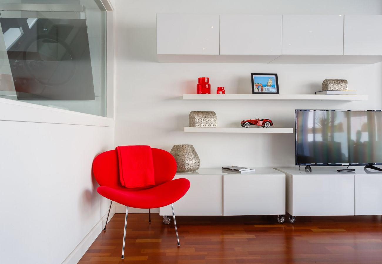 Apartamento en Cádiz - Apartamento con aire acondicionado en Cádiz