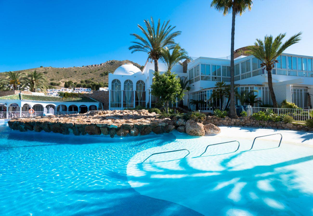 Estudio en Nerja - Estudio con piscina a2 kmde la playa