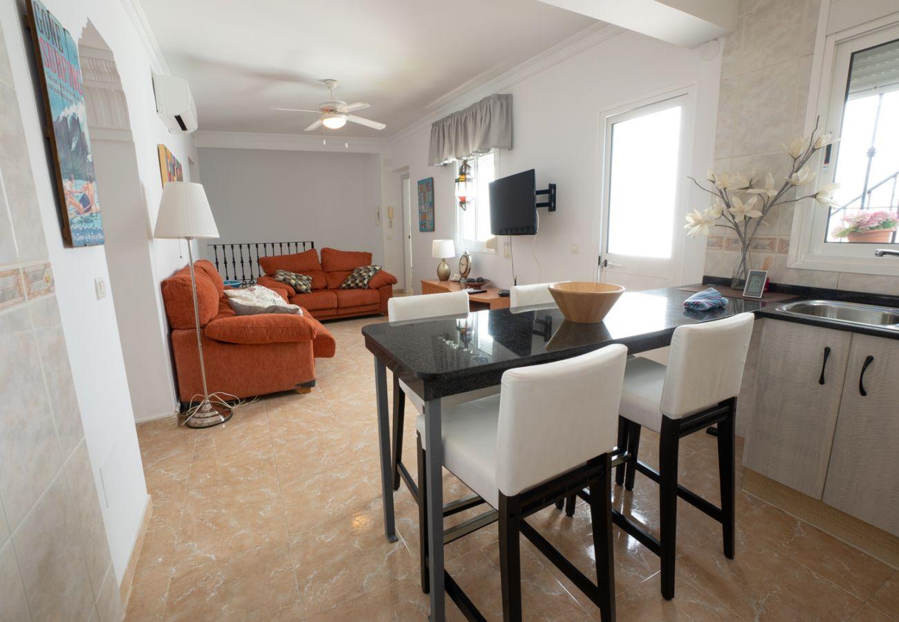 Casa en Nerja - Casa para 4 personas a800 mde la playa