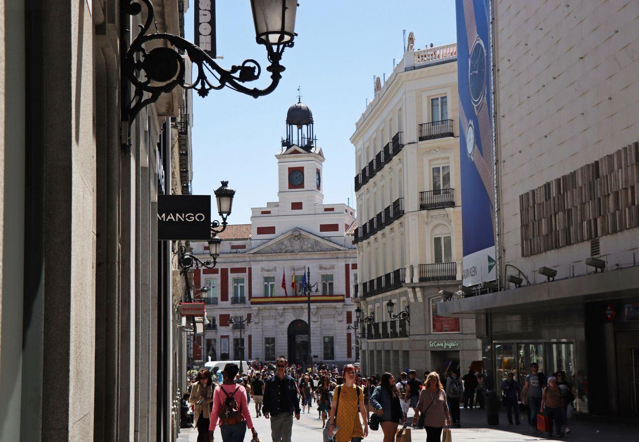 Estudio en Madrid - CITY CENTER- ATOCHA ST.  Studio. 4 PAX