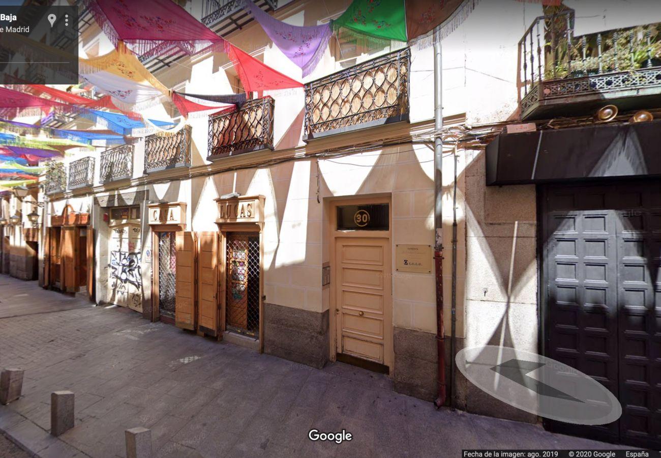 Estudio en Madrid - Downtown Rastro Madrid La Latina Cozy Estudio 2 Pax