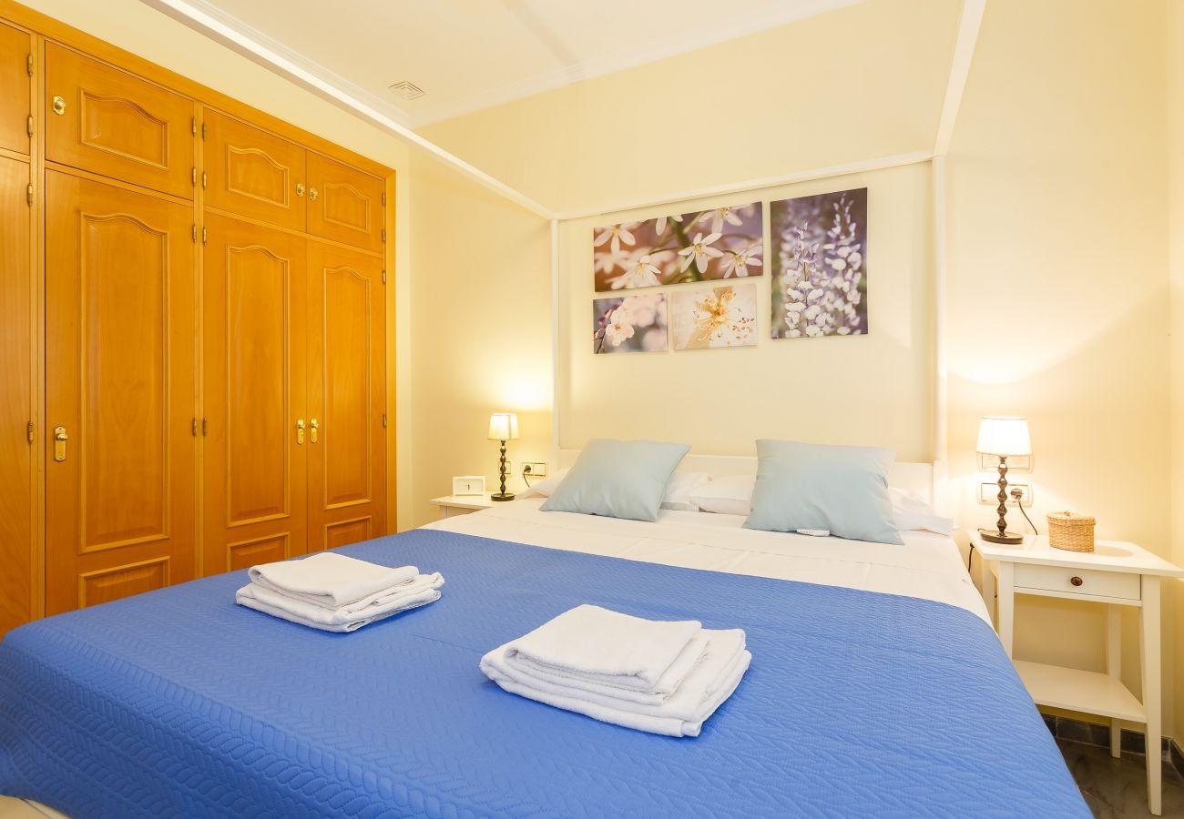 Apartamento en Cádiz - Apartamento con aireacondicionado en Cádiz