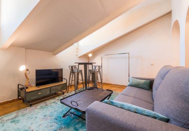 Estudio en Madrid - M (LAV30) Apartamento Lavapiés Centro