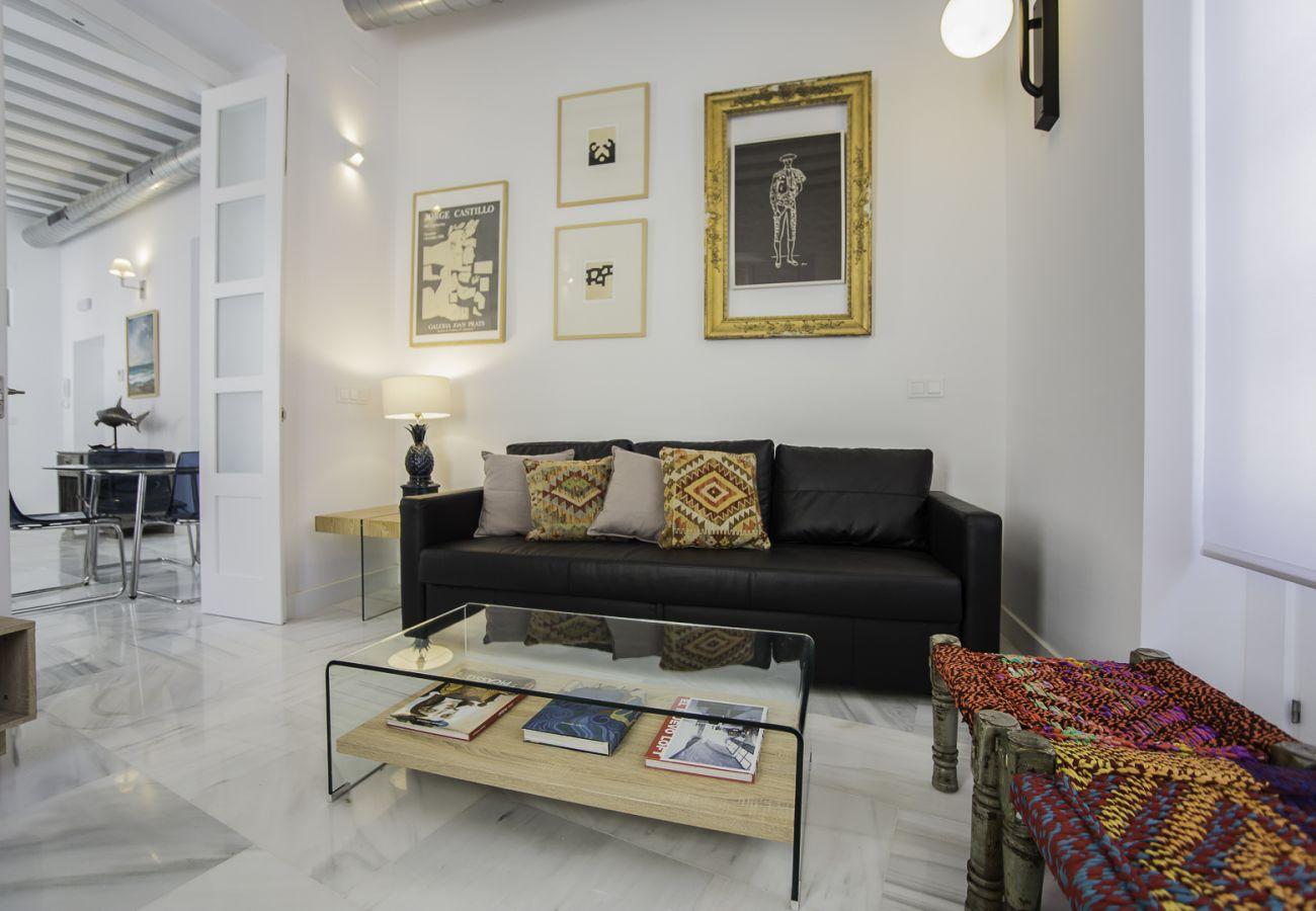 Apartamento en Cádiz - Apartamento para 4 personas a800 mde la playa
