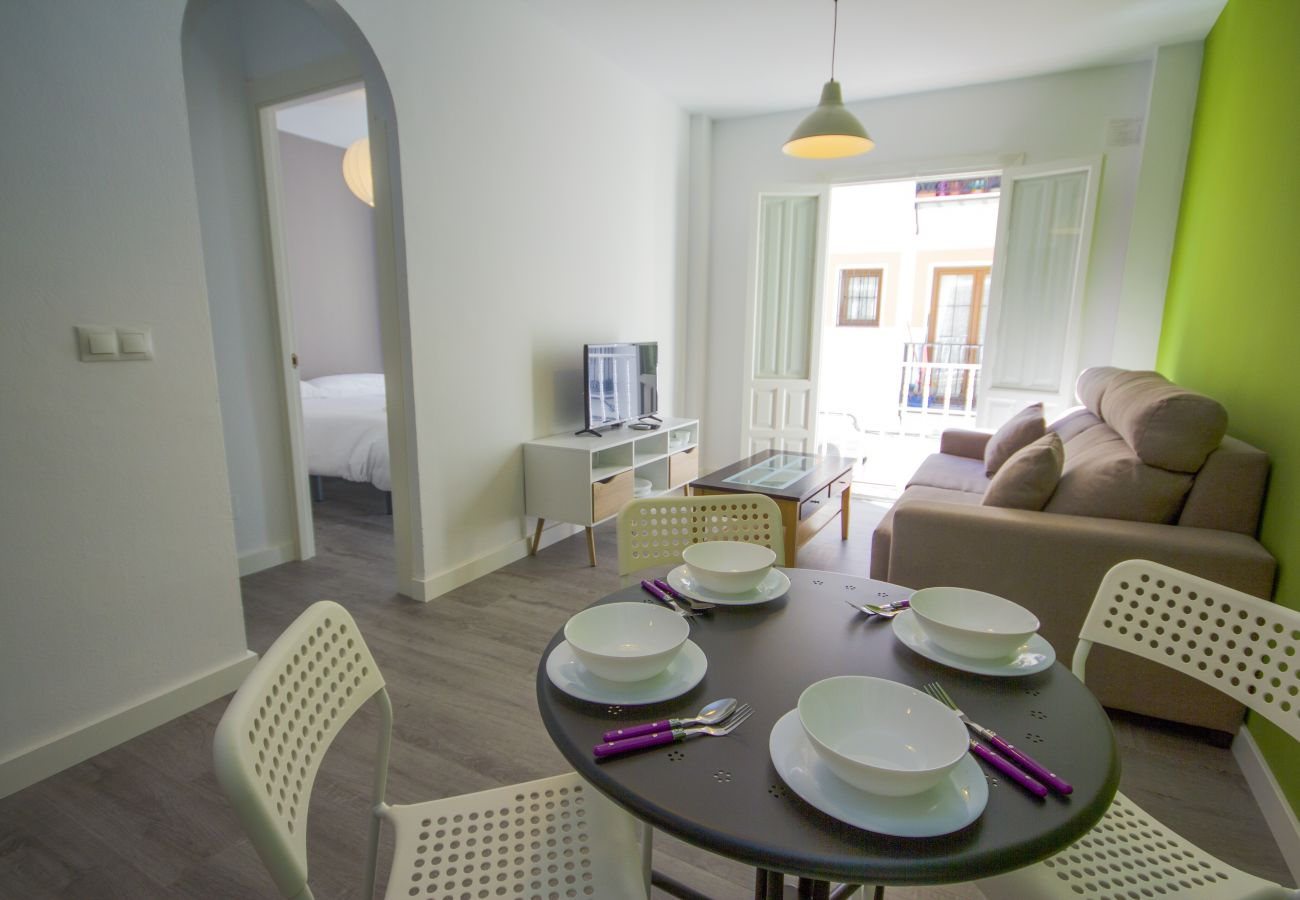 Apartamento en Nerja - Apartamento de 1 dormitorios a600 mde la playa