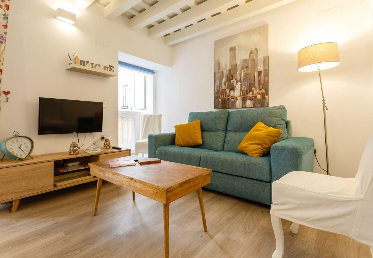 Apartamento en Cádiz - Apartamento de 1 dormitorios en Cádiz