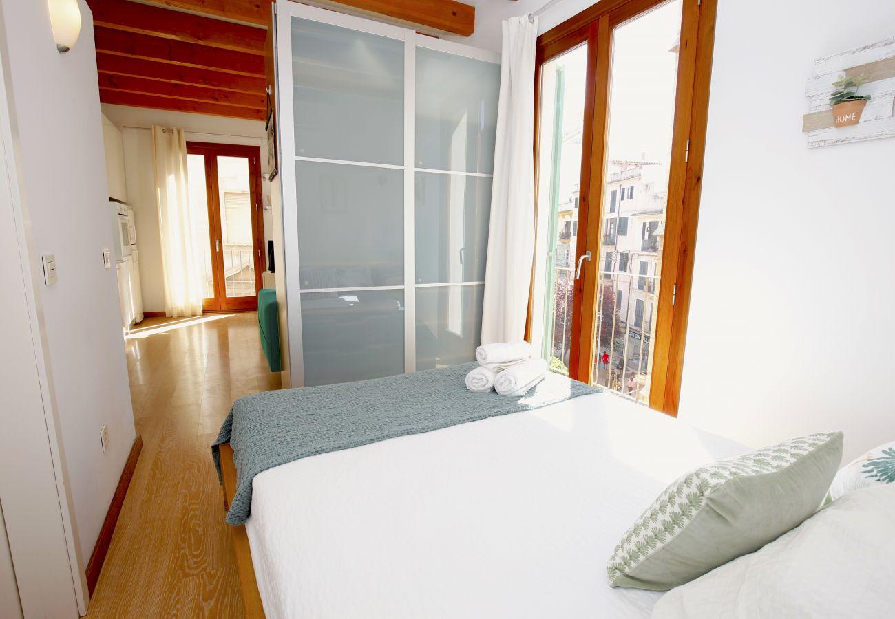 Apartamento en Palma de Mallorca - Apartamento con aire acondicionado a2 kmde la playa