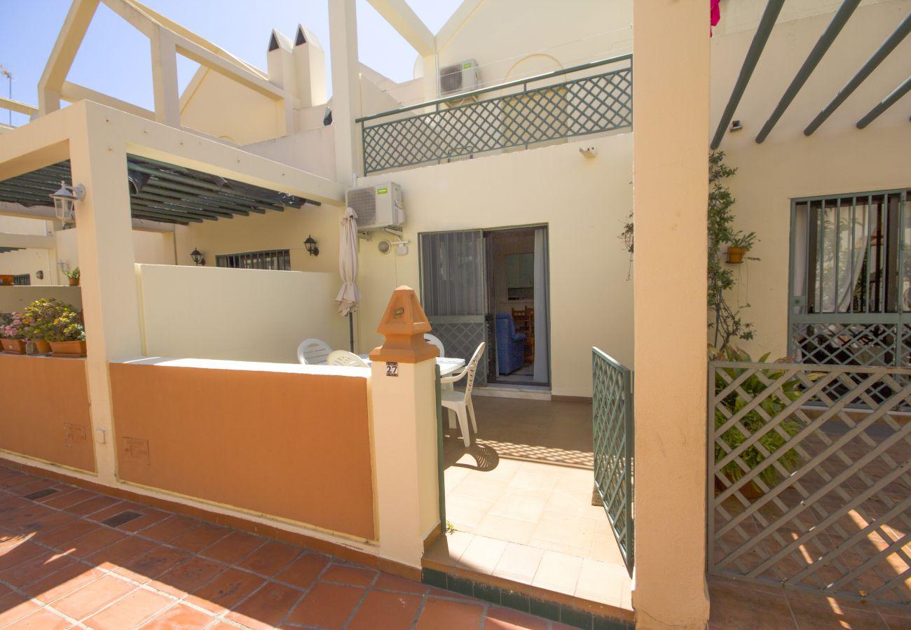 Casa en Nerja - Casa para 6 personas a800 mde la playa