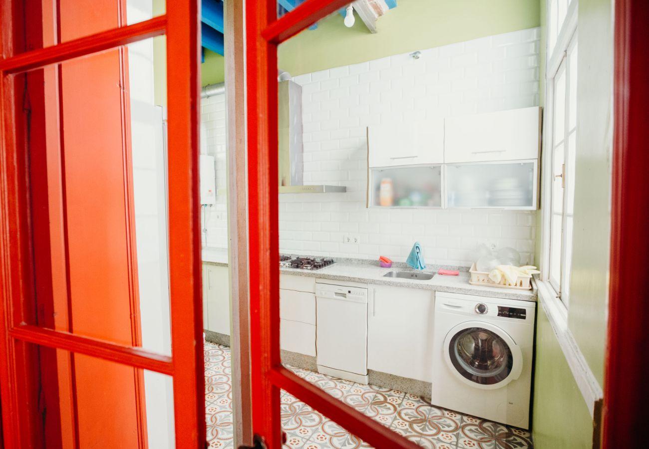 Apartamento en Cádiz - Apartamento de 3 dormitorios a1 kmde la playa