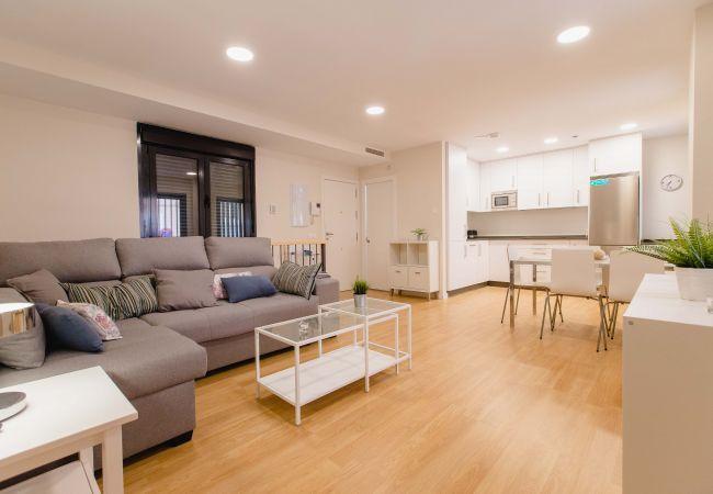 Apartamento en Cádiz - Apartamento con aireacondicionado a5 mde la playa