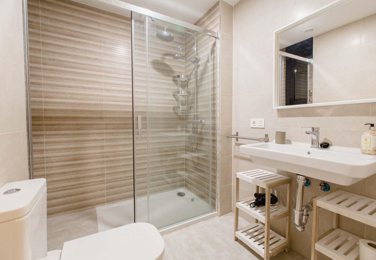 Apartamento en Cádiz - Apartamento con aire acondicionado a5 mde la playa