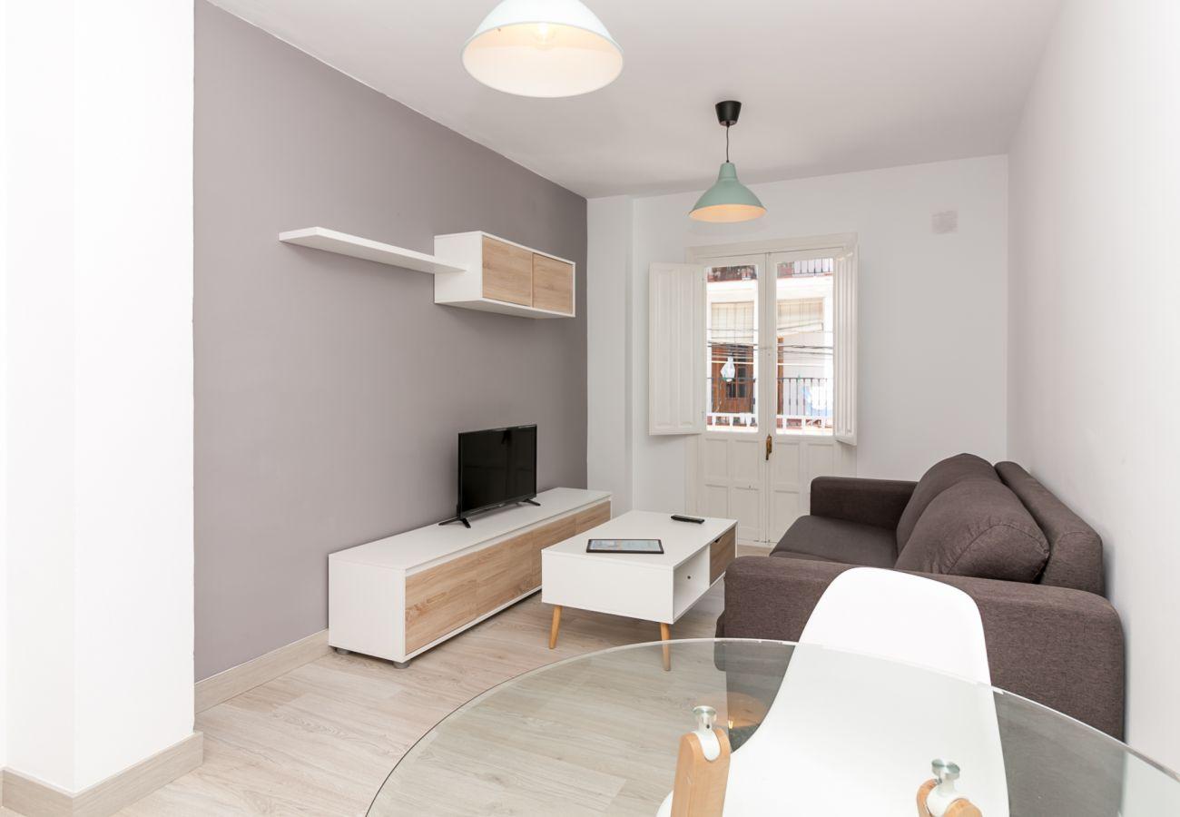 Apartamento en Nerja - Apartamento con aire acondicionado a600 mde la playa