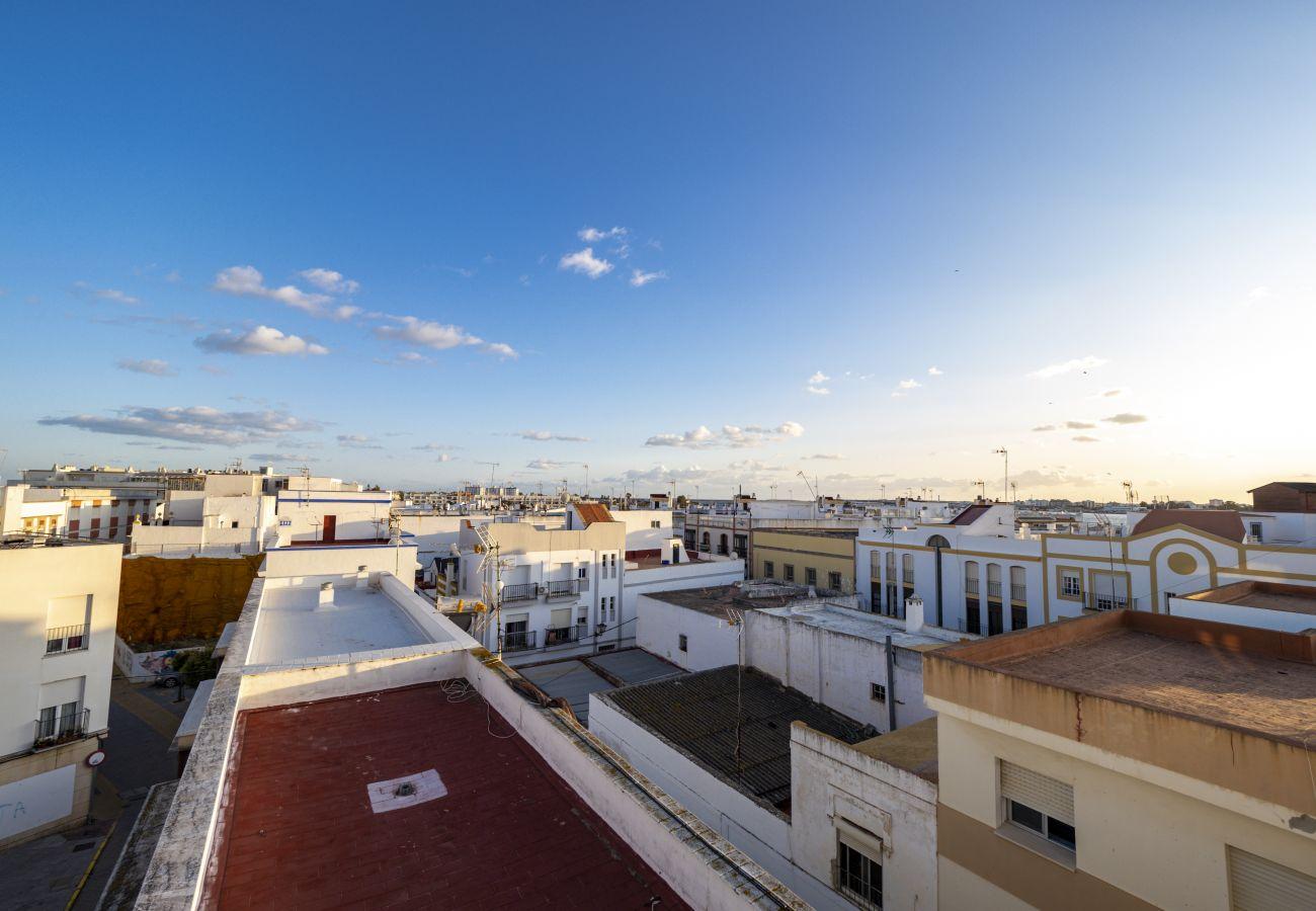 Apartamento en Ayamonte - Apartamento con aire acondicionado en Ayamonte