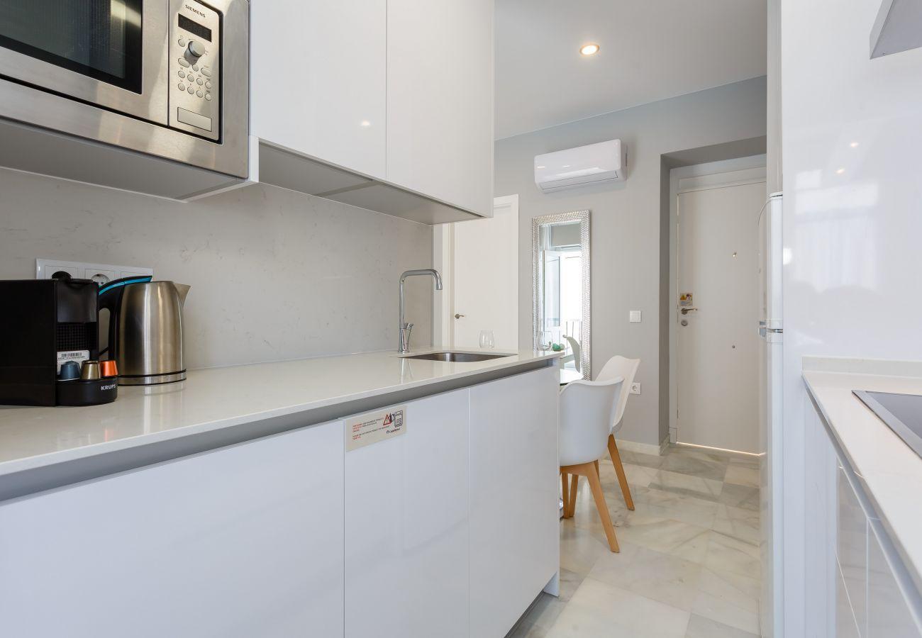 Apartamento en Cádiz - Apartamento para 3 personas a650 mde la playa