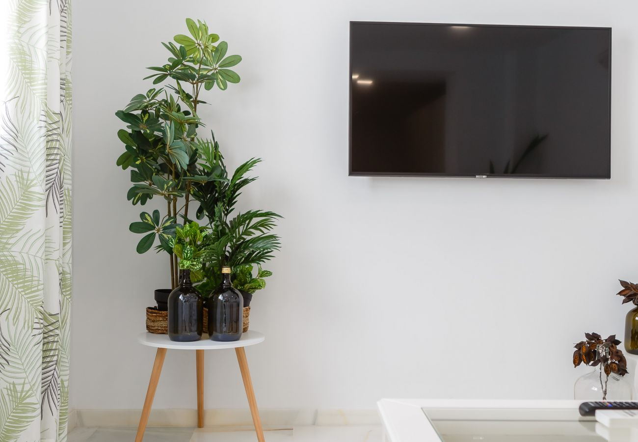 Apartamento en Cádiz - Apartamento con aire acondicionado a650 mde la playa