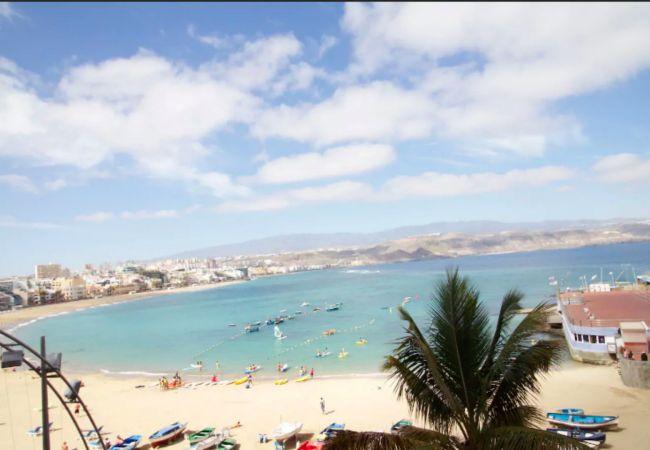 Estudio en Las Palmas de Gran Canaria - Playa Las Canteras balcon vista mar by Lightbooking