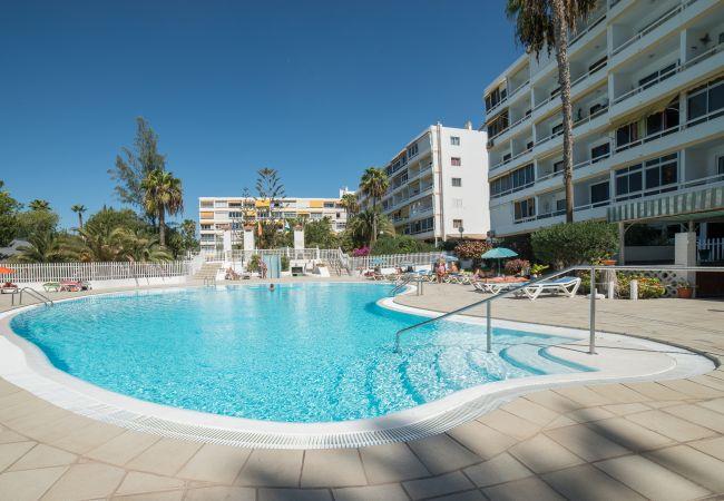 Apartamento en Playa del Ingles - Playa del Ingles piscina 4 personas wifi by Lightbooking