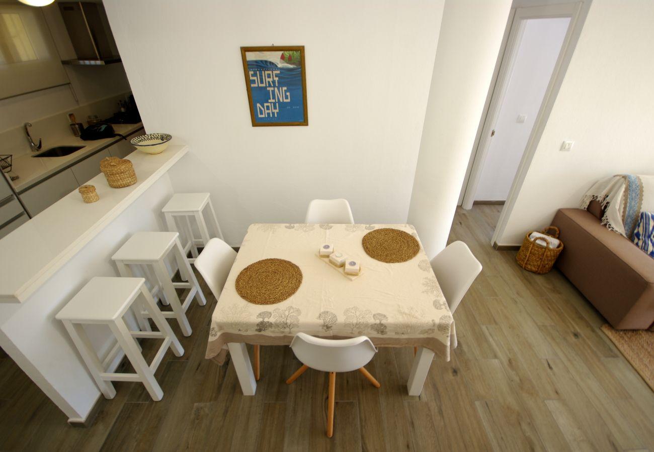 Apartamento en Tarifa - Apartamento de 2 dormitorios a600 mde la playa